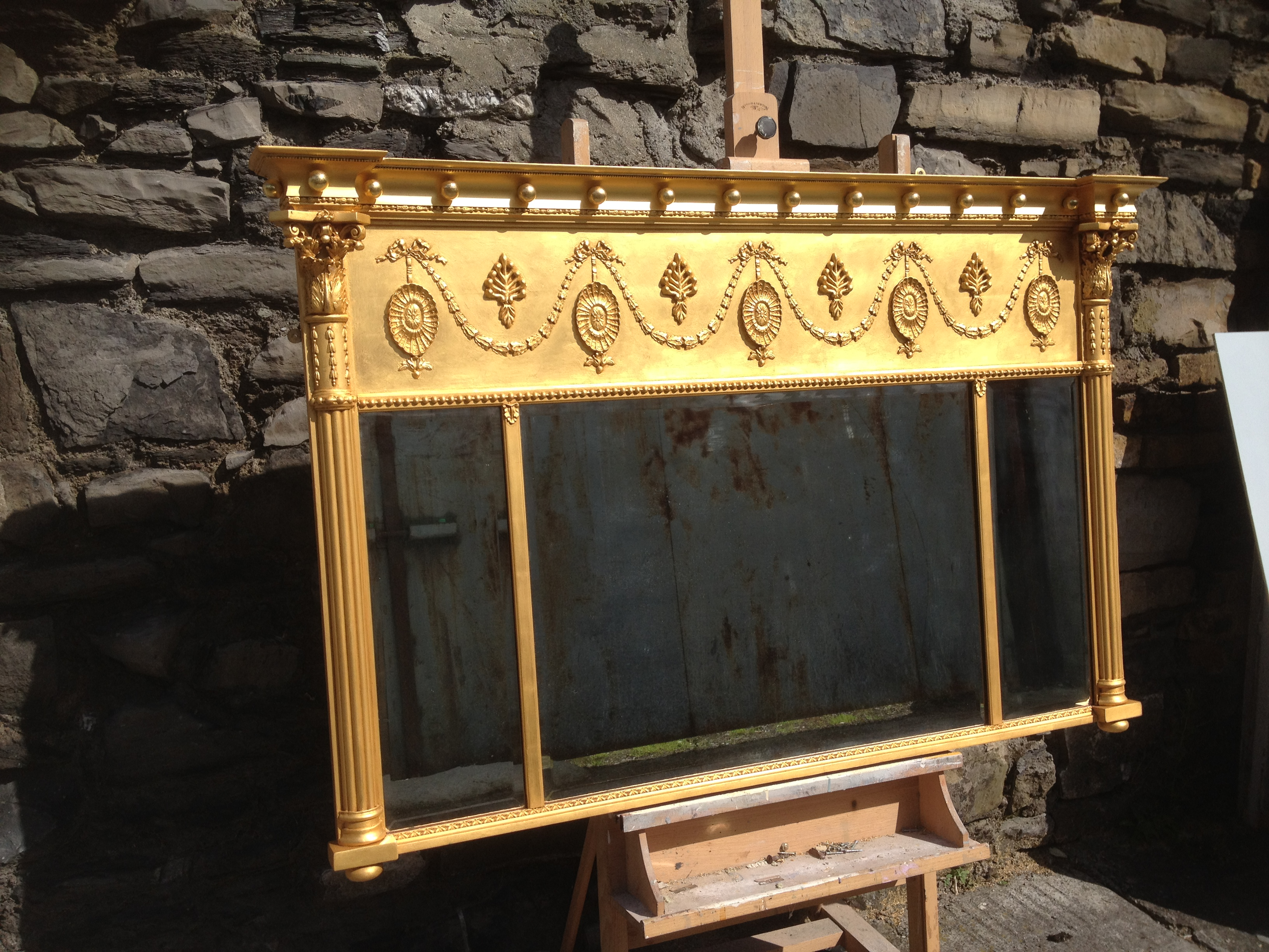 Gilded Over Mantle