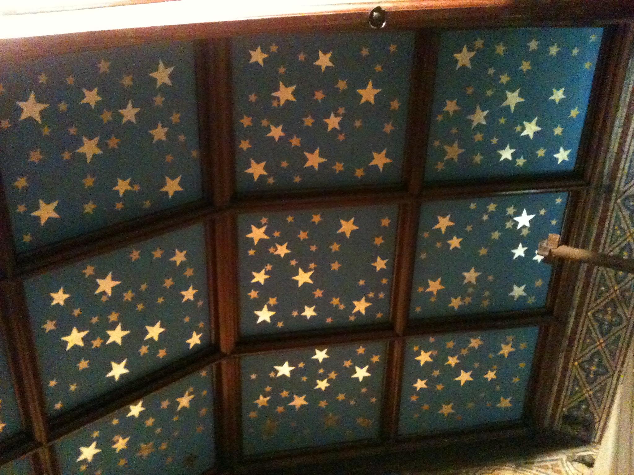 Gilded Ceiling Panels